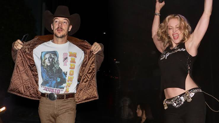 Diplo's Madonna Concert Look Demonstrates He's a Definitive Fanboy