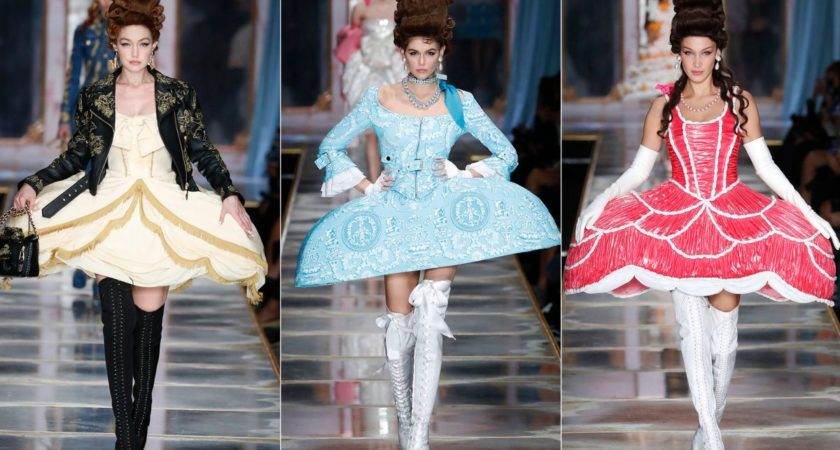 Moschino becomes catwalk to cakewalk for Milan Fashion Week 2020