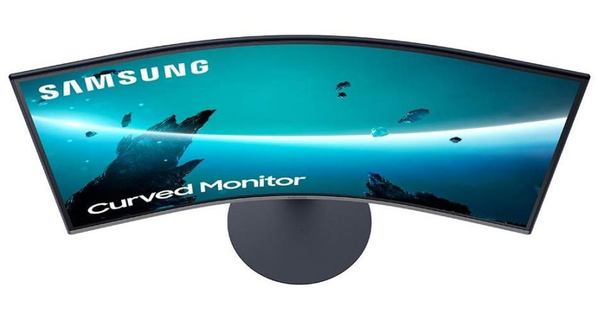 Samsung uncovers three T55 monitors including curved monitors and AMD FreeSync