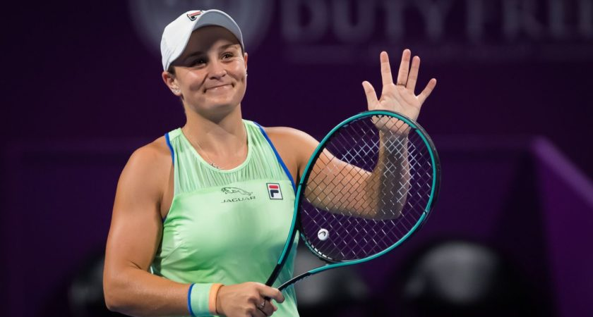 Ash Barty beaten by Perta Kvitova in Doha semifinals